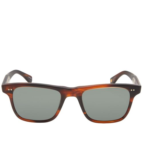 Mens Garrett Leight Wavecrest Sunglasses in Tortoiseshell