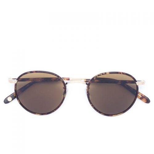Mens Garrett Leight Wilson CR-39 Sunglasses in Brown