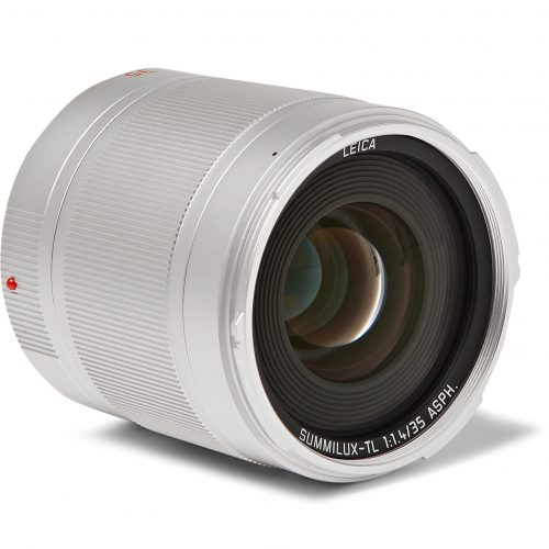 Mens Leica Tl System Summilux-tl 35mm Camera Lens in Silver