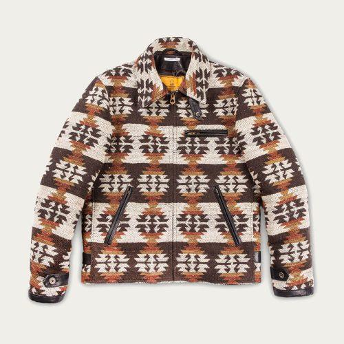 Mens Shangri-La Heritage Desert Navajo Varenne Wool Jacket in Multi