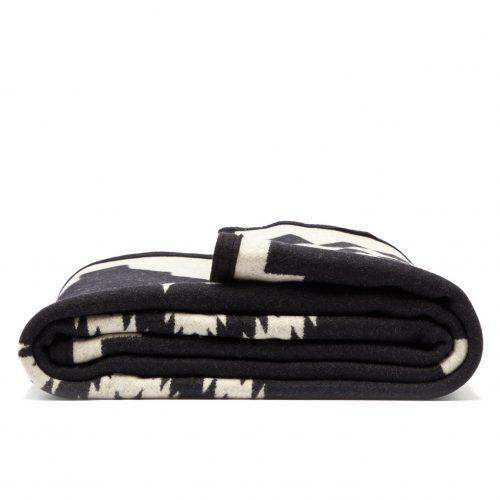 Mens Pendleton Woolen Mills Los Ojos Jacquard Wool Blanket in Multi
