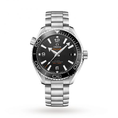 Mens Omega Seamaster Planet Ocean 600m Co-Axial 39.5mm Watch in Black