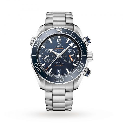 Mens Omega Seamaster Planet Ocean 600m Co-Axial 45.5mm Watch in Blue Ceramic