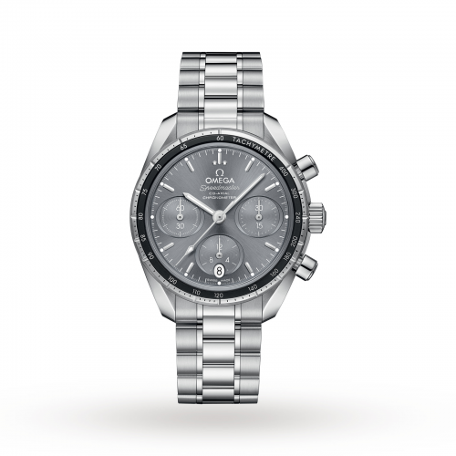 Mens Omega Speedmaster Co-Axial 38mm Watch in Sun-brushed Grey