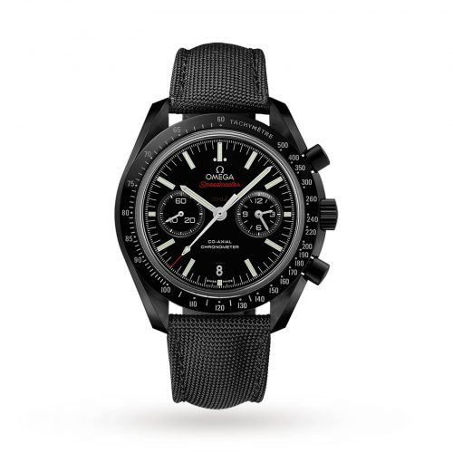 Mens Omega Speedmaster Moonwatch Co-Axial 44.25mm Watch in Black Ceramic