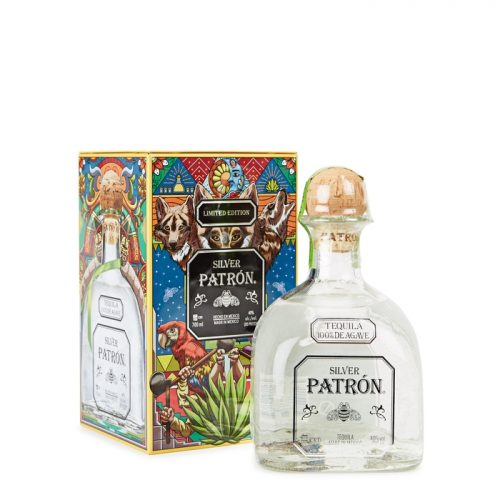 Mens Patron Silver Tequila Limited Edition Heritage Tin 2018