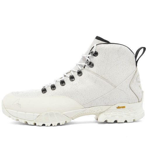 Mens ROA Andreas Leather Hiking Boots in White