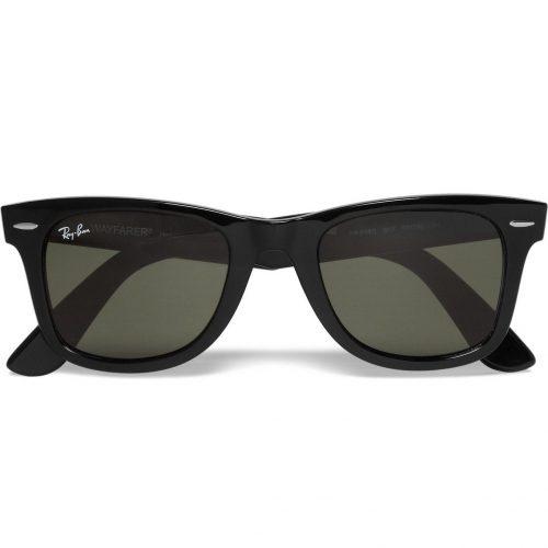 MensRay-Ban Original Wayfarer Acetate Sunglasses in Black