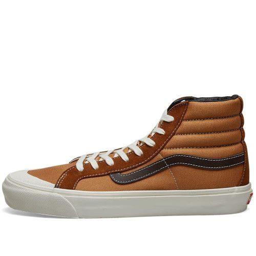 MensVans Vault OG Style 138 LX Sneakers in Coffee Bean Brown