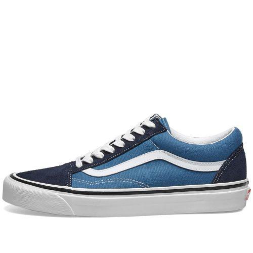 MensVans Vault Old Skool 36 DX Sneakers in Oceanic Blue