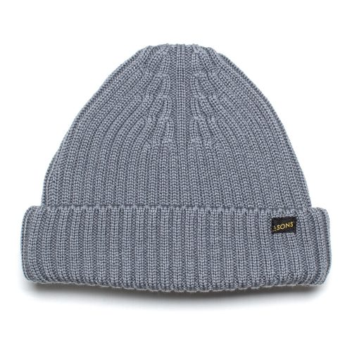 Mens &SONS Trading Co Atlantic Watch Cap Beanie in Grey