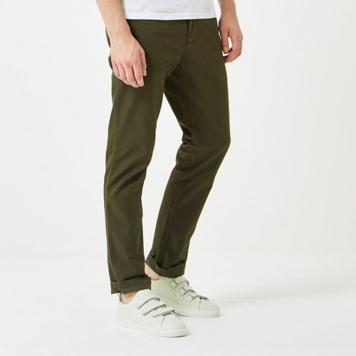 Mens Carhartt Sid Pant Chino (Slim Fit) in Cypress Green