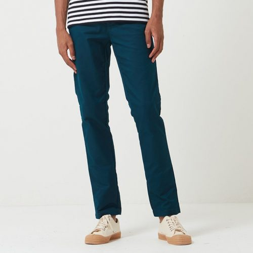Mens Carhartt Sid Pant Chino (Slim Fit) in Duck Blue