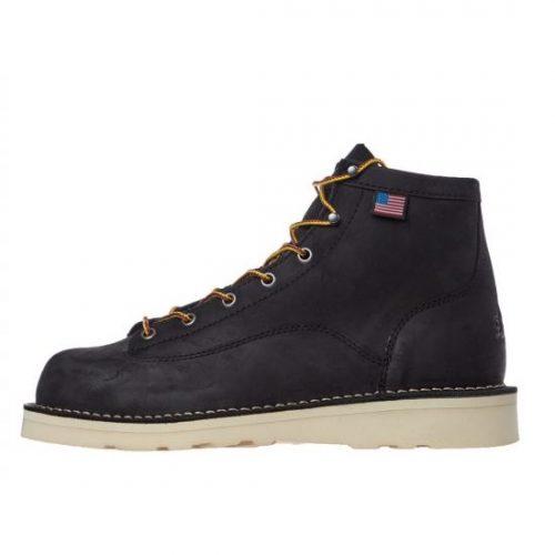 Mens Danner Bull Run Boots in Black