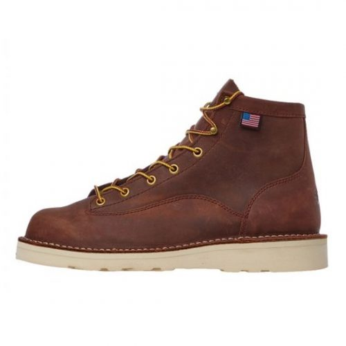 Mens Danner Bull Run Boots in Tobacco Leather