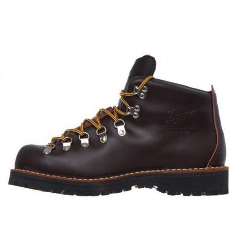 Mens Danner Mountain Light Boots in Dark Brown