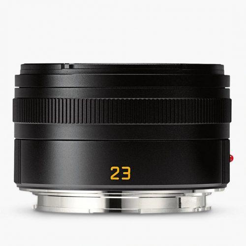 Mens Leica Summicron-TL 23mm f/2 ASPH Lens in Black