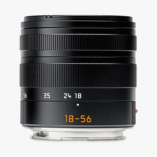 Mens Leica Vario-Elmar-TL 18-56mm f/3.5-5.6 ASPH Zoom Lens in Black