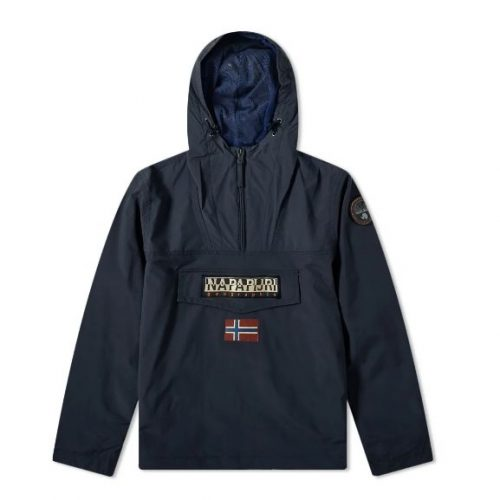 Mens Napapijri Rainforest Summer Anorak Jacket in Navy