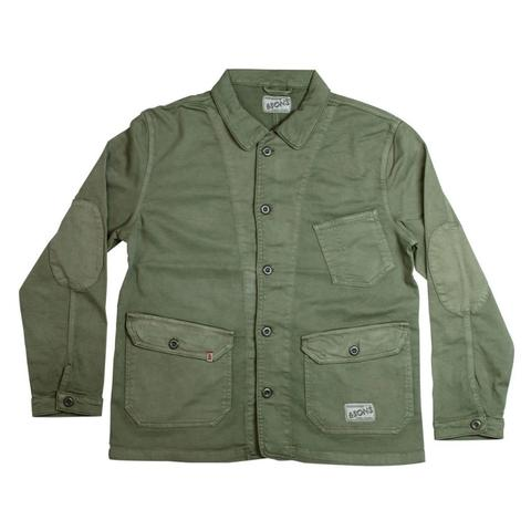 Mens &SONS Carver II Chore Jacket in Green