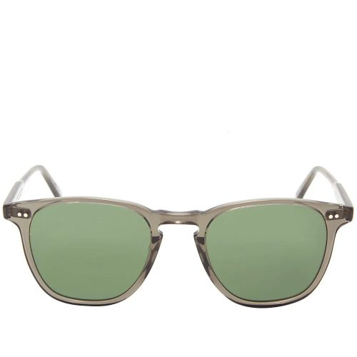 Mens Garrett Leight Brooks Sunglasses in Smoky Grey