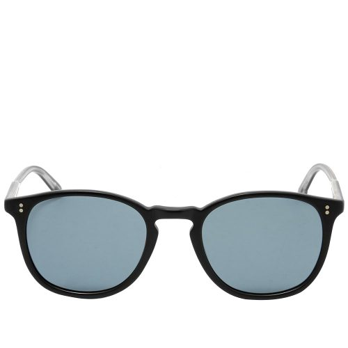 Mens Garrett Leight Kinney Sunglasses in Matte Black