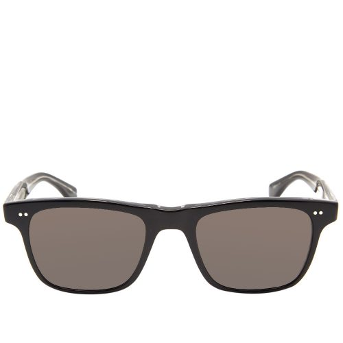 Mens Garrett Leight Wavecrest Sunglasses in Black