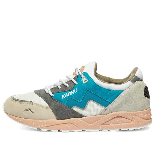 Mens Karhu Aria Sneakers in Grey & Blue