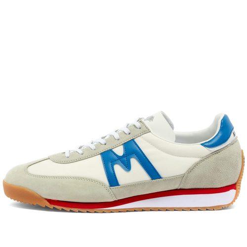 Mens Karhu ChampionAir Sneakers in White & Blue