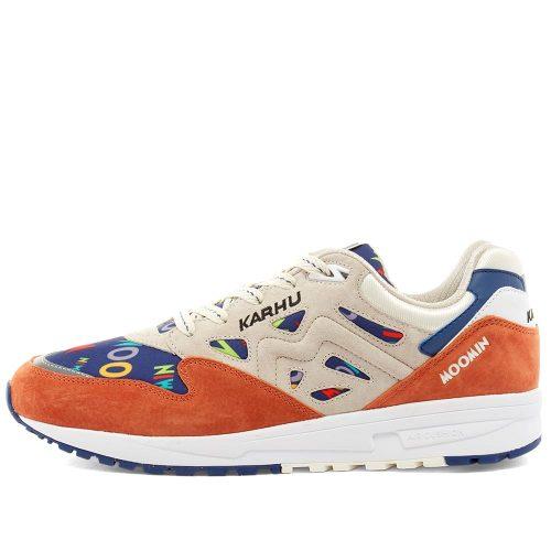 Mens Karhu x Moomin Legacy 96 Sneakers in Orange & Rainy Day