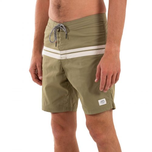 Mens Katin Now And Then Trunk Boardshorts in Cactus Green