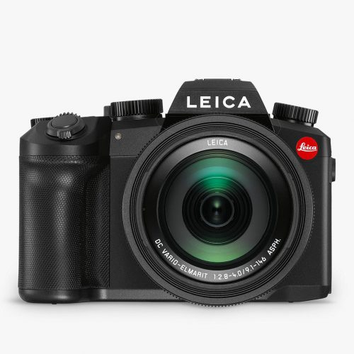 MensLeica V-Lux 5 Compact Camera with 25-400mm Lens in Black