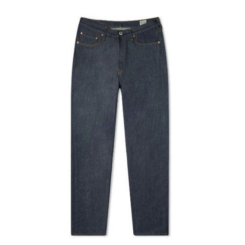 MensorSlow 105 Standard Selvedge Denim Jeans in Blue