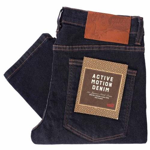 Mens Naked and Famous Denim Super Skinny Guy Jeans in Indigo