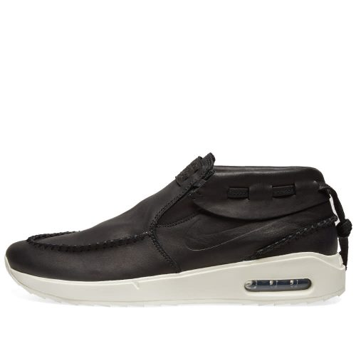 Mens Nike SB Janoski Air Max 2 Moc Sneakers in Black Leather