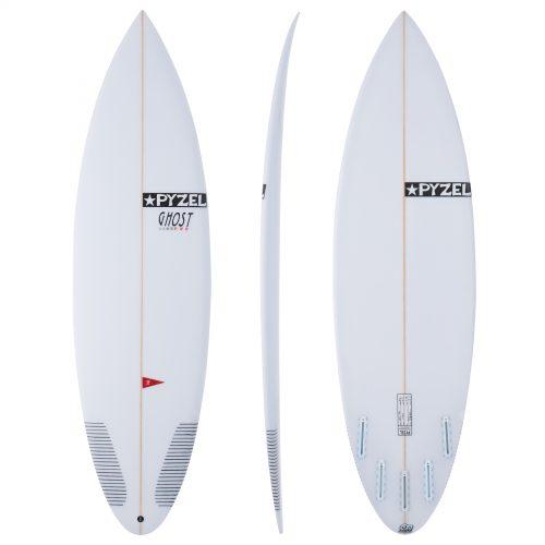 MensPyzel Ghost Pro Futures 5 Fin Surfboard in White