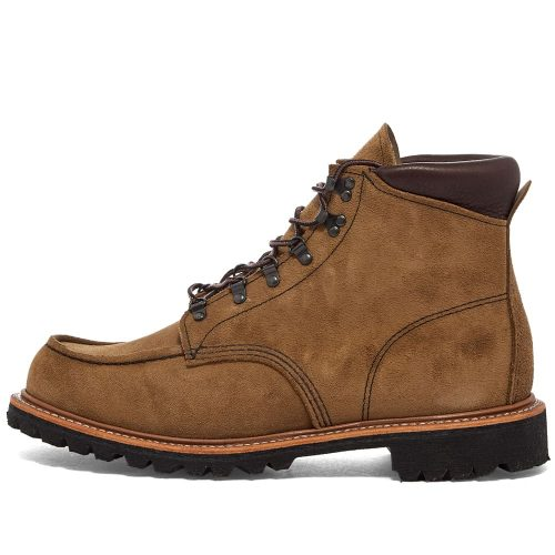 Mens Red Wing 2926 Heritage Sawmill Boots in Olive Mohave
