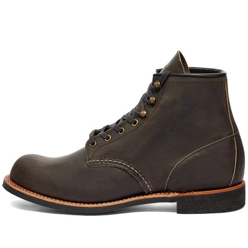 "Mens Red Wing 3343 Heritage Work 6"" Blacksmith Boots in Charcoal"