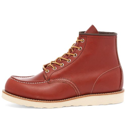 Mens Red Wing 8138 Heritage Work 6″ Moc Toe Boots in Oro Russet Portage Leather