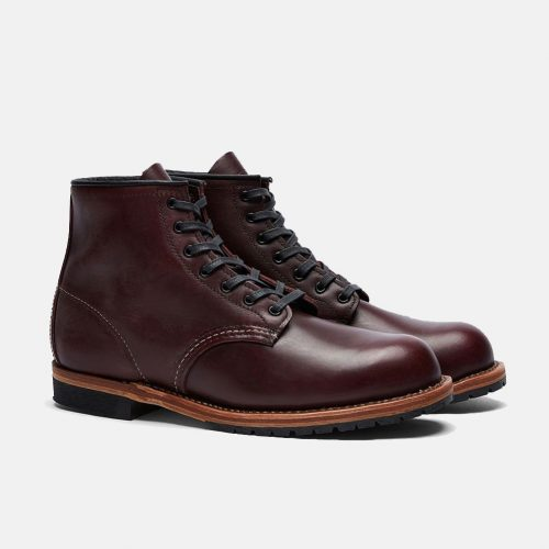 Mens Red Wing 9011 Beckman Round Toe Boots in Black Cherry