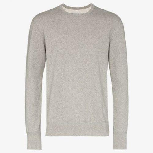MensReigning Champ Classic Crew Neck Sweatshirt in Grey
