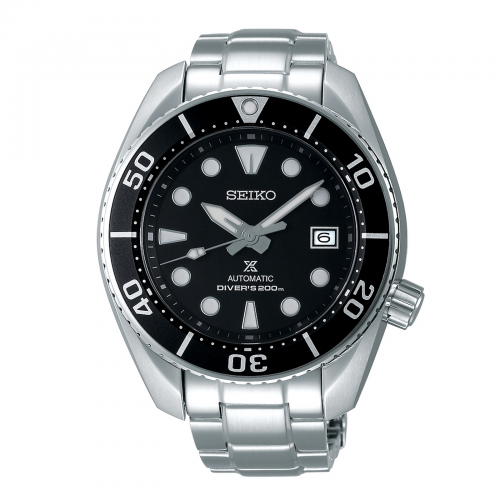 Mens Seiko Prospex Divers Watch in Black