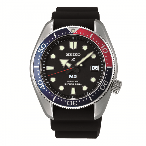 Mens Seiko Prospex PADI Automatic Divers Watch in Black