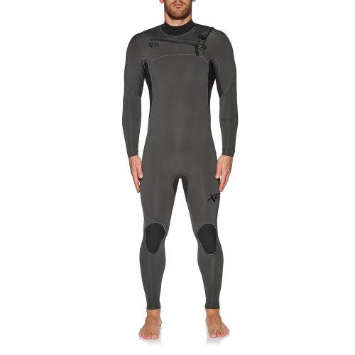Mens Xcel Comp 4/3mm Wetsuit in Jet Black