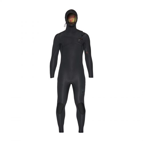 Mens Xcel Comp X Hooded 5.5/4.5 Wetsuit in Black