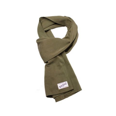 Mens &SONS Hemingway Scarf in Green
