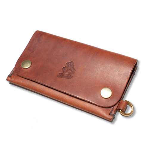 Mens &SONS Long Wallet in Tan Leather