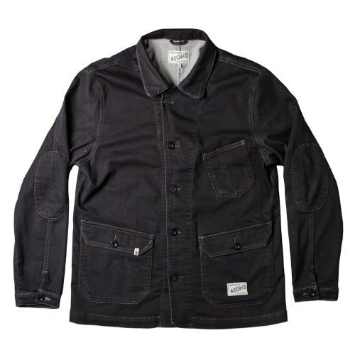 Mens &SONS Trading Co Carver II Jacket in Black