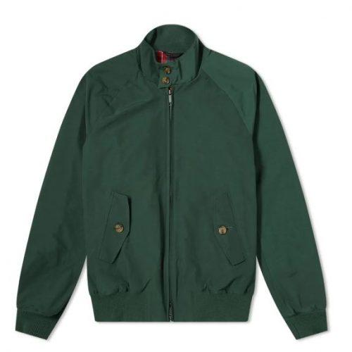 Mens Baracuta G9 Original Harrington Jacket in Racing Green