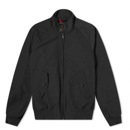 MensBaracuta G9 Original Harrington Jacket in Black